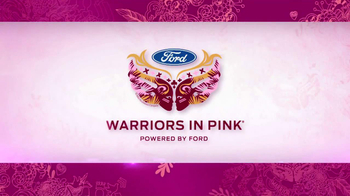 Ford Warriors in Pink TV Spot Featuring A.J. Cook - Thumbnail 5