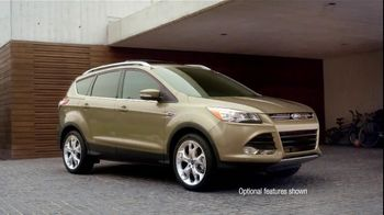 2013 Ford Escape TV Spot, 'Opposites Attract' - Thumbnail 2