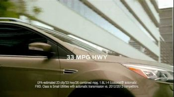 2013 Ford Escape TV Spot, 'Opposites Attract' - Thumbnail 8