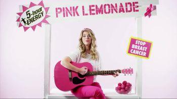 5 Hour Energy Pink Lemonade TV Spot, 'Guitar Song' Feat. Allison Shiffler