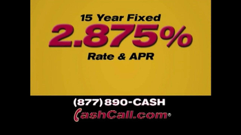 Cash Call Do-Over Refi TV Spot, '2.875%' - Thumbnail 4