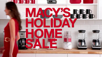 Macy's Holiday Home Sale TV Spot - Thumbnail 2