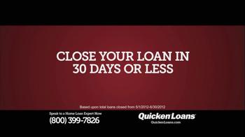 Quicken Loans TV Spot, '30-Year Fixed, 3.5%' - Thumbnail 4