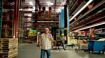 Prilosec TV Spot 'Things You Want' Feat Larry the Cable Guy - Thumbnail 1
