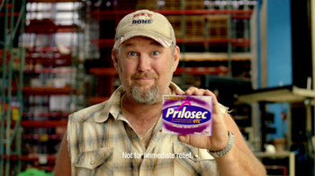 Prilosec TV Spot 'Things You Want' Feat Larry the Cable Guy - 1657 commercial airings
