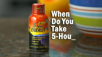 5 Hour Energy TV Spot, 'Every Day' - Thumbnail 1