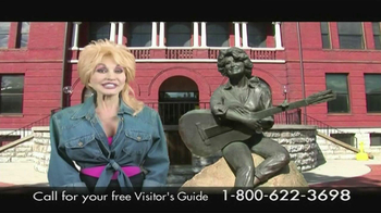 Visit Sevierville TV Spot Featuring Dolly Parton