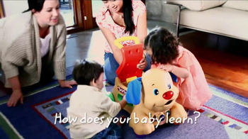 Fisher Price Laugh & Learn Stride-to-Ride Puppy TV Spot, 'Joy of Learning'