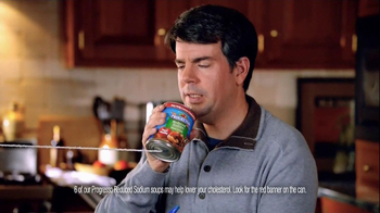 Progresso Reduced Sodium Soup TV Spot, 'Lower Cholesterol' - Thumbnail 10