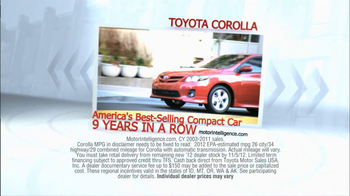 2012 Toyota Corolla TV Spot, 'People Who Know Cars' - Thumbnail 5