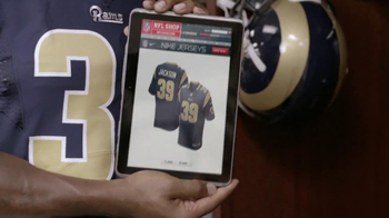NFL Shop TV Spot, 'Jersey' Featuring Steven Jackson and Arian Foster - Thumbnail 3