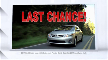 2012 Toyota Models TV Spot, 'People Who Know Cars' - Thumbnail 4