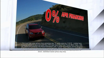 2012 Toyota Models TV Spot, 'People Who Know Cars' - Thumbnail 5