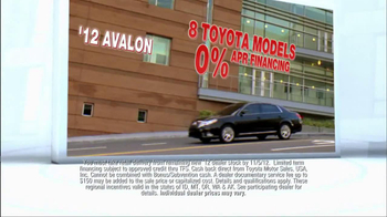 2012 Toyota Models TV Spot, 'People Who Know Cars' - Thumbnail 7