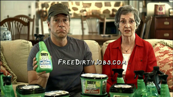 Dirty Jobs Cleaning Products TV Spot, 'Saint'