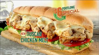 Subway TV Spot, '$5-Footlong' Featuring Robert Griffin III - Thumbnail 6