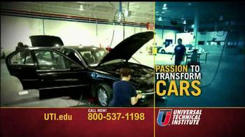 Universal Technical Institute TV Spot, 'Bend Metal'