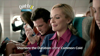 Cold EEZE Oral Spray TV Spot, 'Airplane' - Thumbnail 5