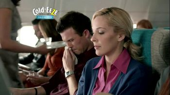Cold EEZE Oral Spray TV Spot, 'Airplane'