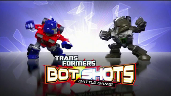 Transformers Bot Shots Battle Game TV Spot - Thumbnail 1
