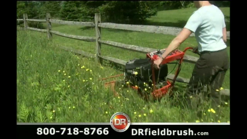 DR Power Equipment TV Commercial For Field and Brush Mower