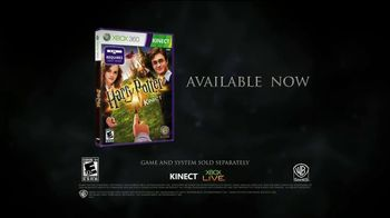 Harry Potter for Kinect TV Spot, 'Get in the Game'