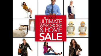 Macy's Ultimate Wardrobe and Home Sale TV Spot - 148 commercial airings