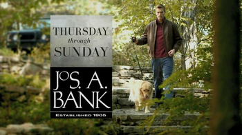 JoS. A. Bank TV Spot, '50% Off 3rd Free' - Thumbnail 1