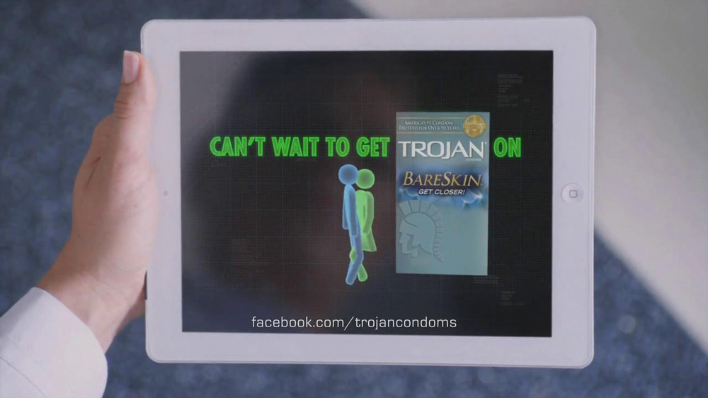 a critical analysis of the trojan condoms advertisements