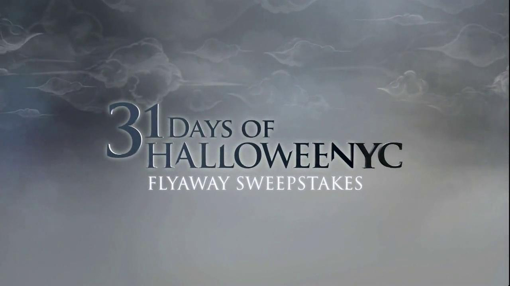 SyFy Halloween Sweepstakes TV Commercial, 'Chance to Win' - Video