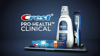 Crest Pro-Health Clinical TV Spot, 'Clean and Healthy Mouth' - Thumbnail 2