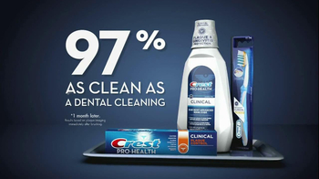Crest Pro-Health Clinical TV Spot, 'Clean and Healthy Mouth' - Thumbnail 3