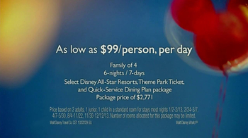 Disney World TV Spot '$99 per day' Song Kina Grannis - Thumbnail 3