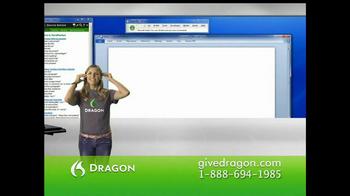 Nuance Dragon TV Spot - Thumbnail 1