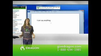 Nuance Dragon TV Spot - Thumbnail 2