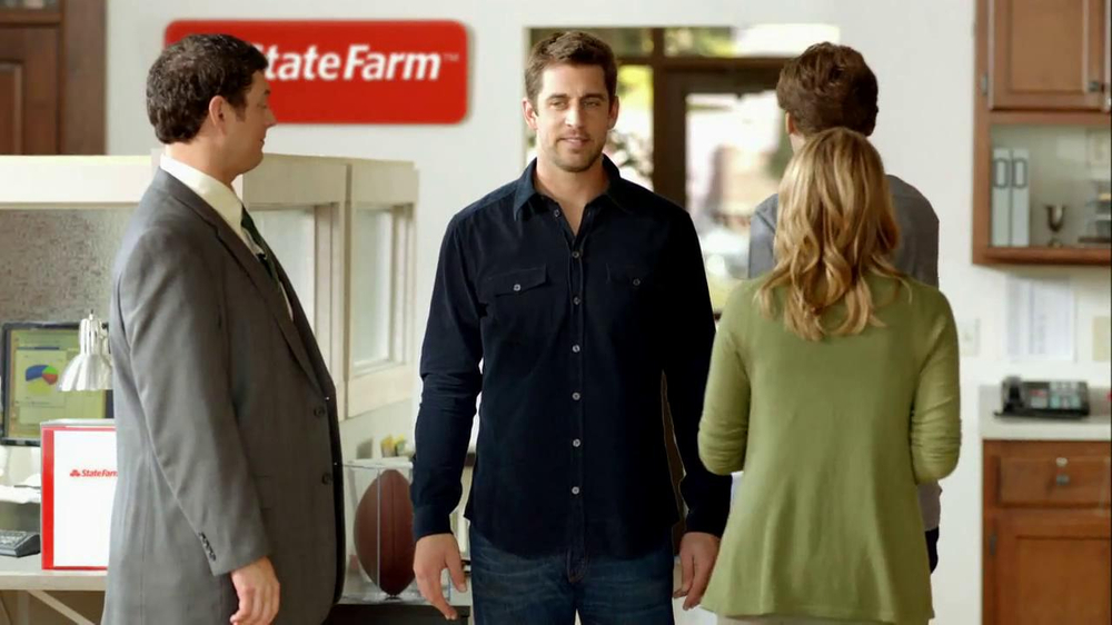 State Farm TV Commercial, 'Touchdown Dance' Featuring Aaron Rodgers
