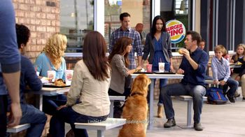 Burger King Chicken Parmesan Sandwich TV Spot, 'Dog' - 999 commercial airings