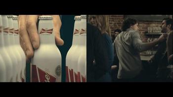 Budweiser TV Spot, 'Double Screens' - Thumbnail 1