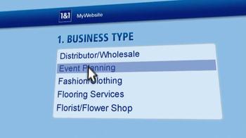1&1 Internet TV Spot, 'Creating a Business Website' - Thumbnail 3