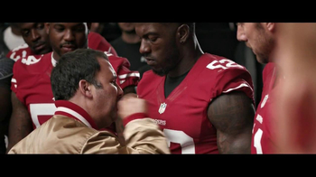 VISA TV Spot, '49ers Locker Room'