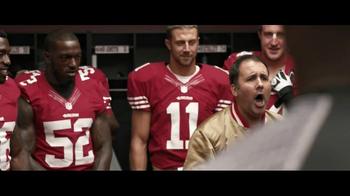 VISA TV Spot, '49ers Locker Room' - Thumbnail 4