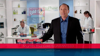 Cold EEZE Daytime/Nighttime Quick Melts TV Spot - Thumbnail 10