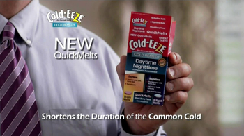Cold EEZE Daytime/Nighttime Quick Melts TV Spot - Thumbnail 3