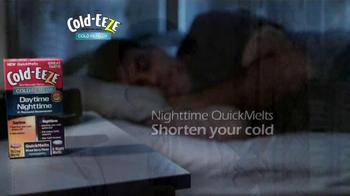Cold EEZE Daytime/Nighttime Quick Melts TV Spot - Thumbnail 4