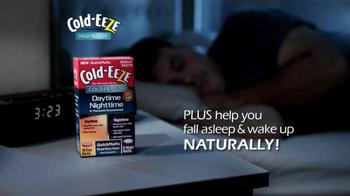 Cold EEZE Daytime/Nighttime Quick Melts TV Spot - Thumbnail 5
