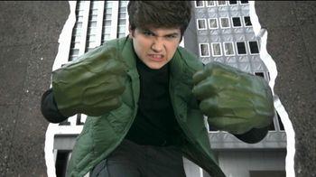 Marvel Avengers The Hulk Gamma Green Smash Fists TV Spot, 'The Power: Light Up Mask'