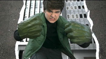 The Avengers Hulk Fists and Mask TV Spot