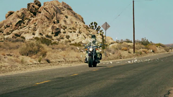 GEICO Motorcycle Money Man TV Spot, 'Driving Through' - Thumbnail 2
