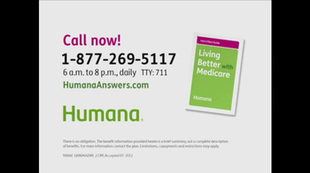 Humana TV Spot, 'Living Better' - Thumbnail 8