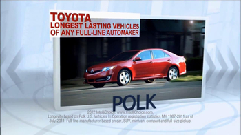 Toyota Camry TV Spot, 'People Who Know Cars' - Thumbnail 2